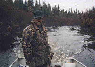 Floyd Saunders, one of our experienced guides employed by Silver Goose Lodge.